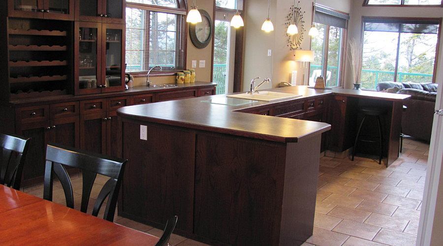 202 Marble Canyon Townhome Fairmont Hot Springs Dining To Kitchen