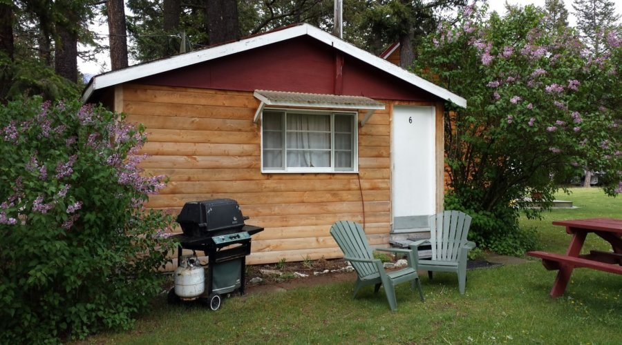 Cabin 6 1 Bdrm  Outside